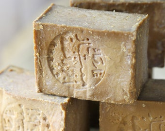 4 bars of aleppo soaps (with free shipping)