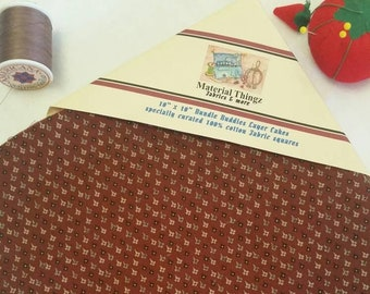 """Civil War Inspired Layer Cake Fabric Bundle of 32 Squares 10"""" x 10"""" Quilting, Sewing, Crafting 100 Percent Cotton Free Shipping"""