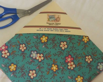 """MDG Happy Layer Cakes 44 Total Grouping 100 Percent Cotton for Quilting, Crafting, Sewing 10"""" Square Free Shipping"""