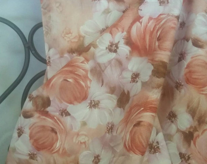 Quilting Fabric, 100 Percent Cotton Fabri-QuiltTulle & Petal's Floral Collage Quilting, Sewing, and Decorating Fabric