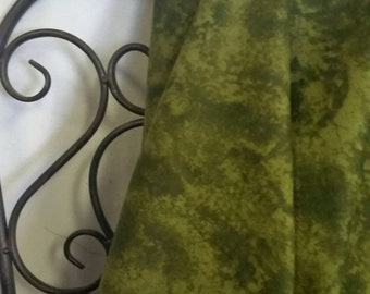 Free Shipping Quilting Fabric, 100 Percent Cotton Olive Tonal by Keepsake Calico for Crafting Projects and Quilting
