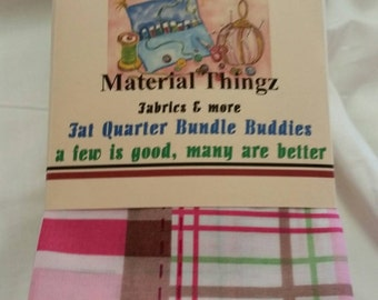 Free Shipping 8 Little Girl's John Deere Pink Fat Quarter Bundle Buddies Baby Quilt Fabric Cotton Sewing Quilting Crafting Fabric