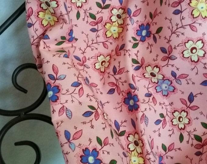 ByThe Yard 100 Percent Cotton Fabric Pink Background