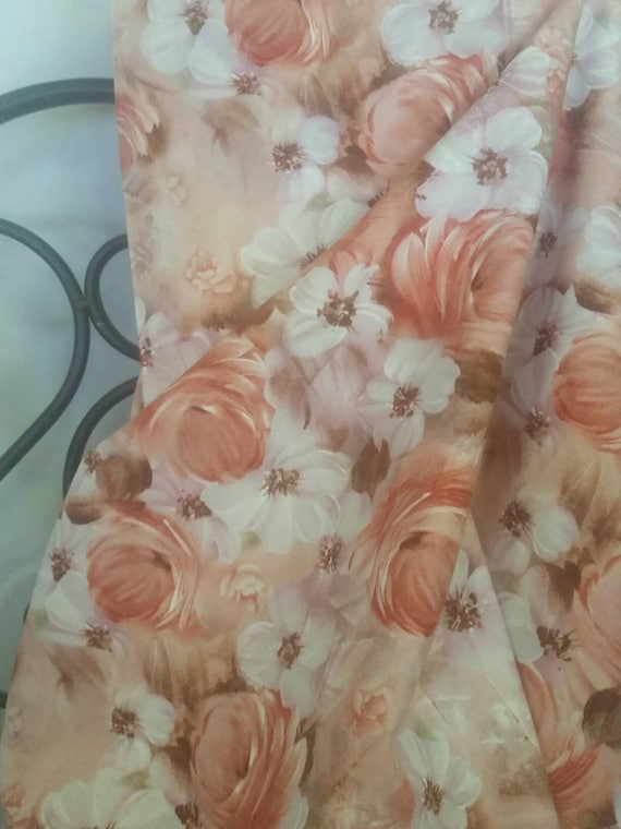 Free Shipping Quilting Fabric, 100 Percent Cotton Fabri-QuiltTulle & Petal's Floral Collage Quilting, Sewing, and Decorating Fabric