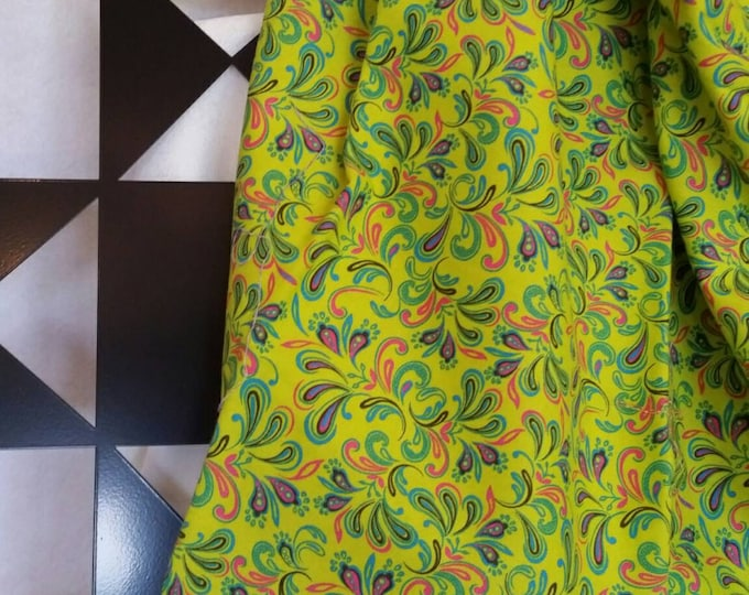Bright Green By the Yard Fabric