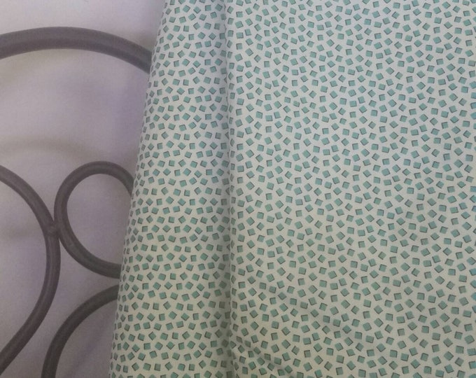 DS Quilts Collection, Blossom Reel Squares Teal