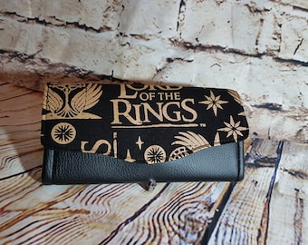 Lord of the Rings Purse - LOTR wallet - Tolkien Clutch - Bibliophile