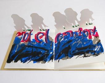 "Artist's book ""Pandora"" by Jean-Jacques Surian"