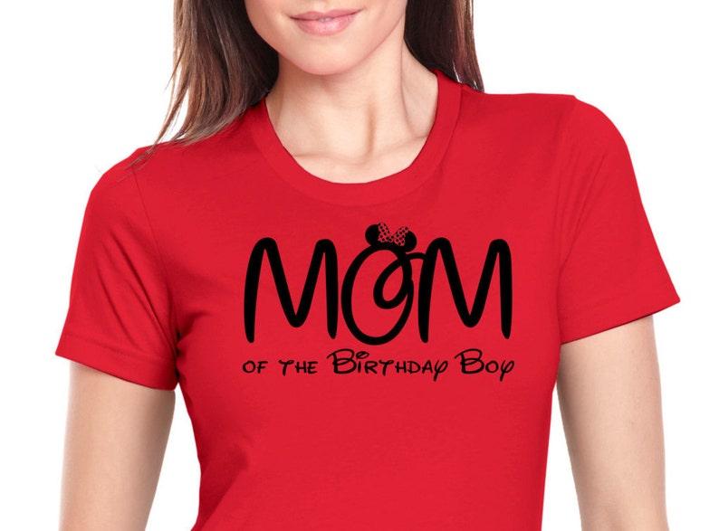 ba3ed0d1 Minnie Mouse Mom of the Birthday Boy shirt PJ Mask Tee | Etsy