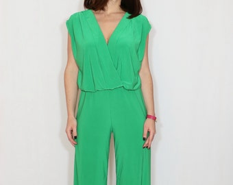87fa6655c2c7 Bright green jumpsuit
