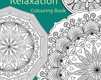 Mandalas for Relaxation Adult Colouring In Book