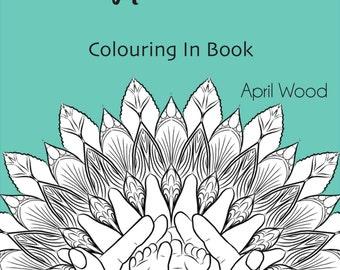 Pregnancy and Newborn Mandala Colouring In Book