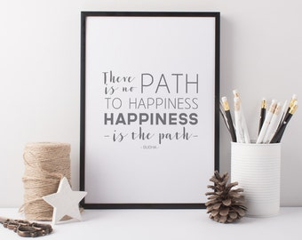 Path To Happiness Etsy