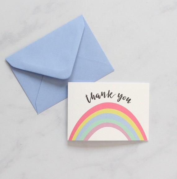 Happy Post Rainbows Mini Card Pack x6
