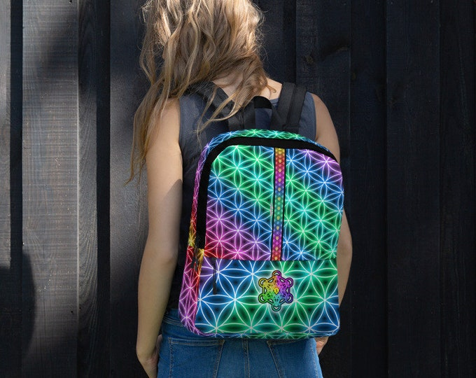 Backpack: Flower of Life All-Over Print Computer Backpack