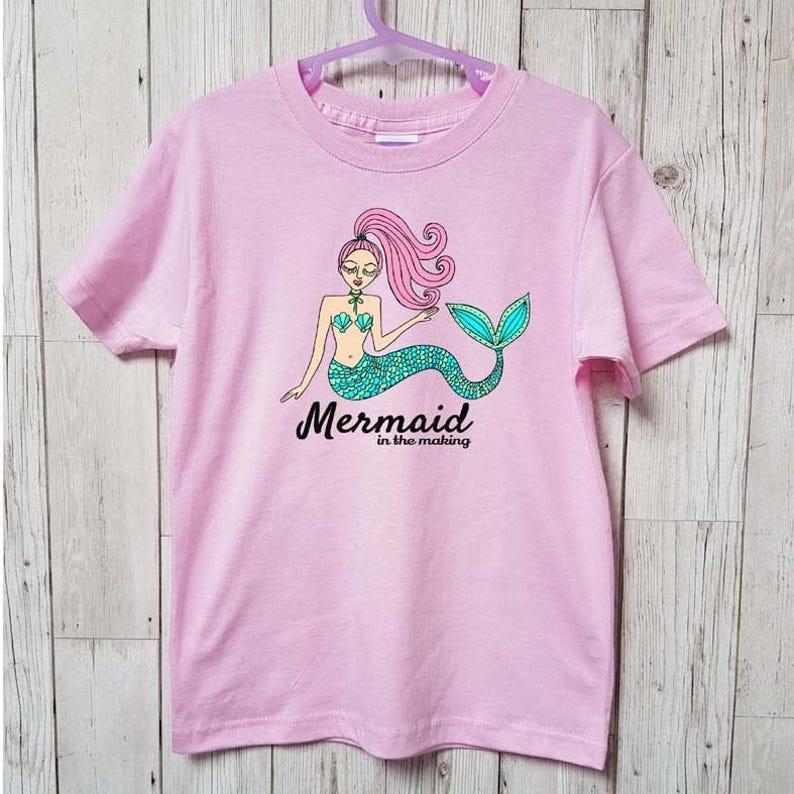b768b1352 Mini Me Mermaid in the Making Sweatshirt / Mermaid Clothing / | Etsy