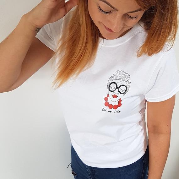 4e1dad7bef8 Positive quote t-shirt Quote T-Shirt Iris Apfel Tshirt | Etsy