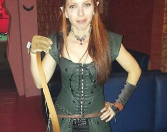 Elf costume/Womens elf outfit/Womenu0027s elf costume/Elf set/ Medieval clothing  sc 1 st  Etsy & Elf corset | Etsy