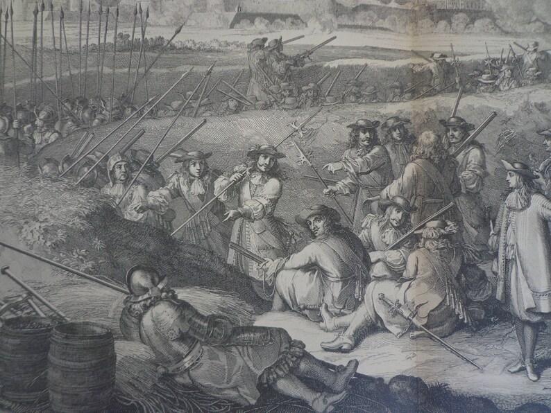 S\u00e9bastien Le Clerc 1681 Siege of Tourney MDCLXVII