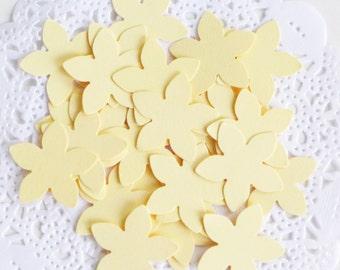 PICK YOUR COLOR, Flower Confetti, Flower Table Decor, Baby Shower Confetti, Flower Girl, Flower Power