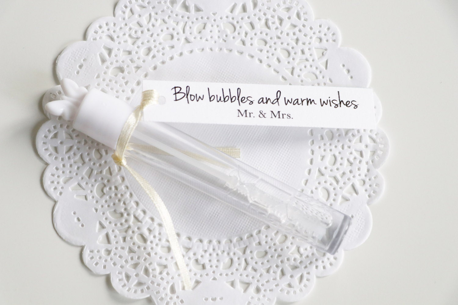 Blow Bubbles of Warm Wishes, Wedding Bubble Tags, Mr & Mrs, Wedding ...