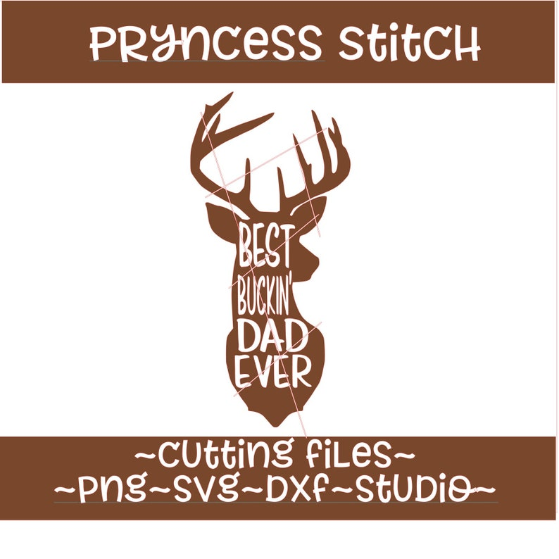 Best Buckin Dad Ever Svg Etsy