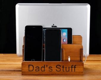 Charging DockWooden Phone StandHusband Giftbirthday Giftgiftfor Him Gift For HusbandCharging Dockgifts Mengift Boyfriend