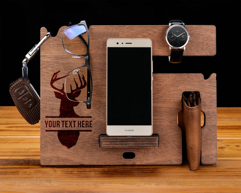 Docking Stationcell Phone Dockfor Men Father S Day Etsy