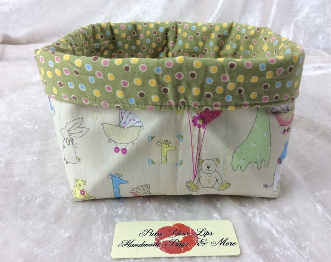Nursery Fabric basket storage bin box