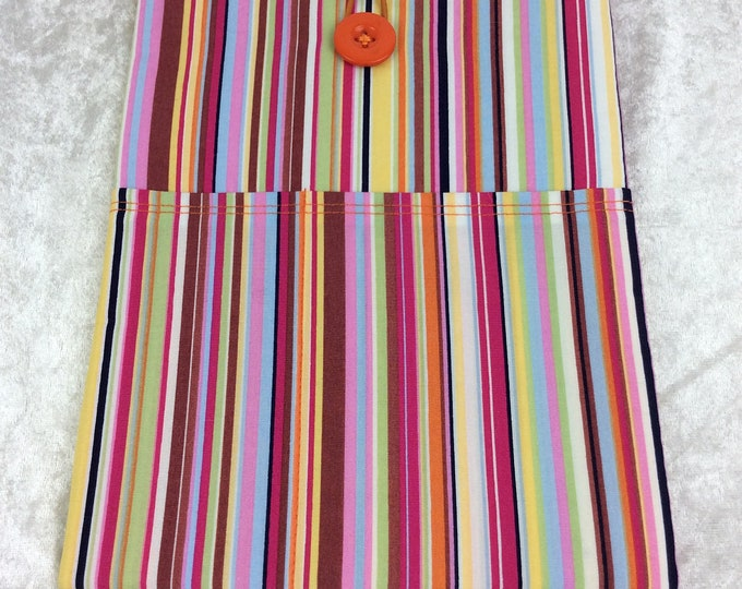 Stripes Tablet Case Cover Pouch iPad Kindle Medium