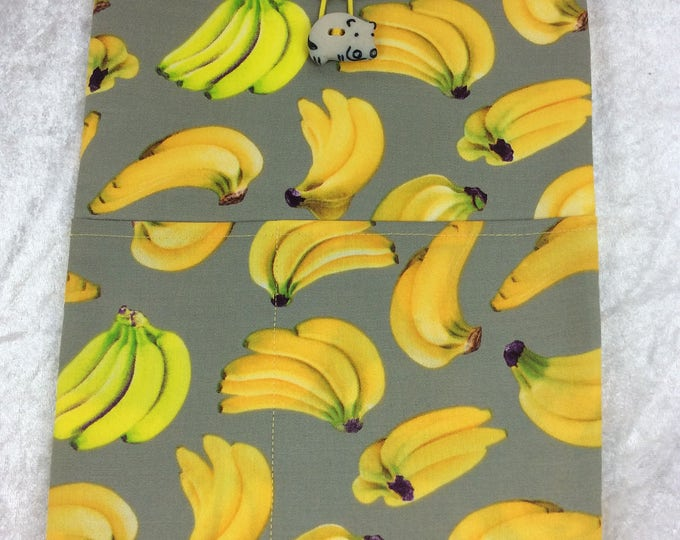 Bananas Tablet Case Cover Pouch iPad Kindle Large