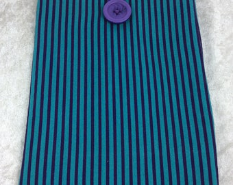 Stripes Tablet Case Cover Pouch iPad Kindle Small Stripy