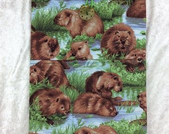 Beavers Tablet Case Cover Pouch iPad Kindle Large