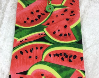 Handmade Tablet Case Cover Pouch iPad/Kindle MEDIUM Melons