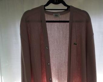da56c80c4f9b1 Vintage Lacoste Cardigan