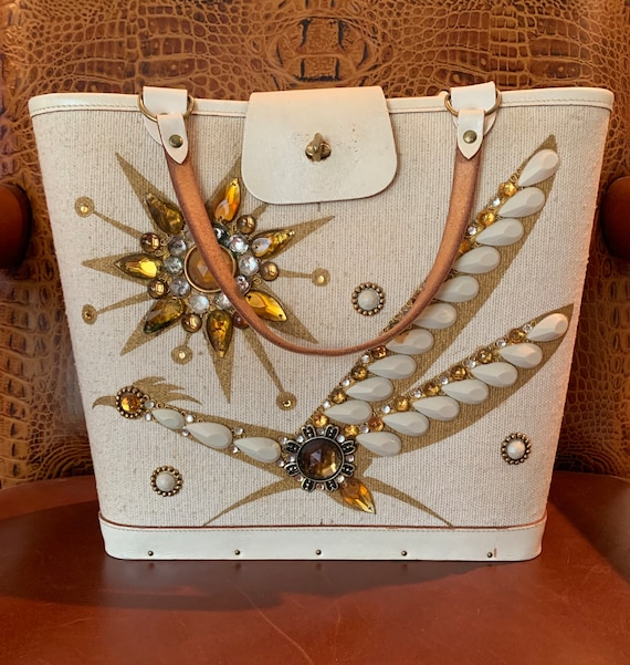Vintage Enid Collins 'Roadrunner' Handbag