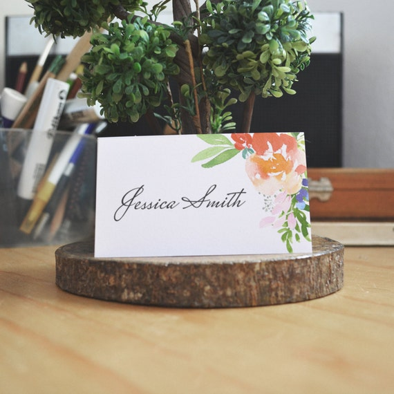 placement card template word
