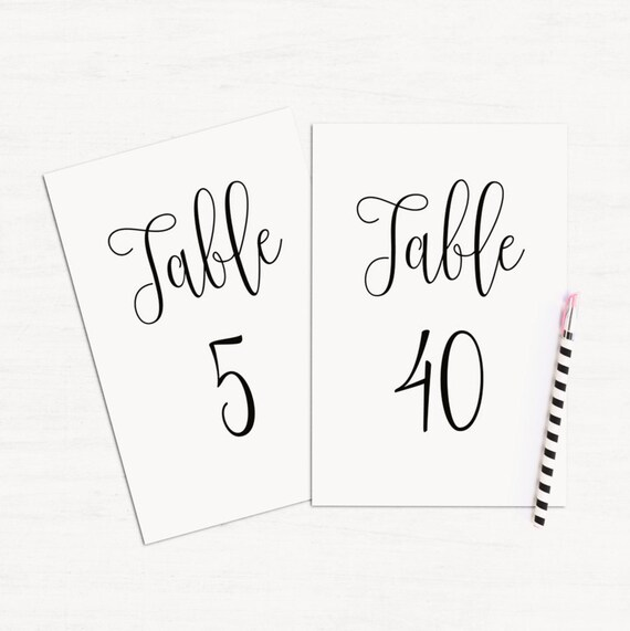 photo relating to Table Numbers Printable known as Basic desk quantities printable Minimalist marriage ceremony desk playing cards Black and white Calligraphy marriage ceremony figures Revolutionary desk decoration T140