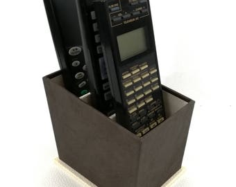 BOX storage for REMOTES - Brown and beige