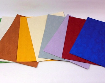 SHEETS of paper TEXTURE for crafting or scrapbooking