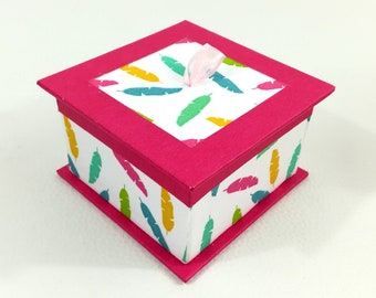 Tea, jewelry box, candy - pink & multicolor