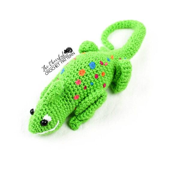 Chameleon Crochet Pattern Chameleon Amigurumi Lizard Etsy