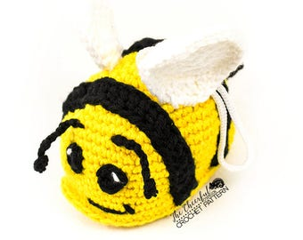 Bumble Bee Crochet Pattern - Bumblebee Amigurumi Pattern - Crochet Bee Pattern - Amigurumi bee - Insect Crochet Pattern