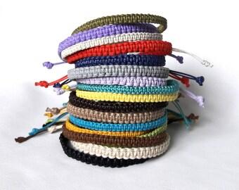 Macrame String Bracelets for Mens bracelet Friendship Simple Cord bracelets
