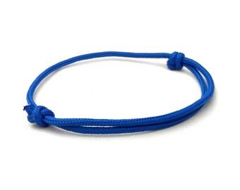 Paracord Bracelet, Men bracelet, Nautical Bracelet, Minimalist Bracelet, Surf Bracelet, Cord Bracelet, Knot Bracelet, Blue Bracelet