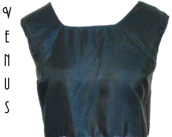"Plus Size UK 20  Shift Tunic Dress Floral Tropical Silky EU 48 US 16 Bust 46""  117cm"