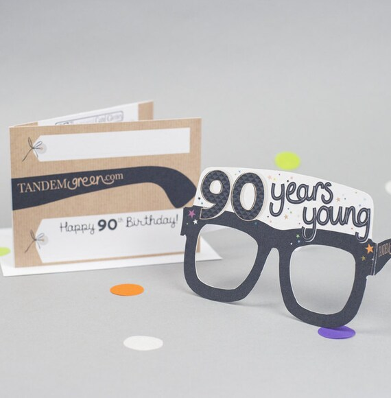 90th Birthday Card Photo Prop Funny Fun