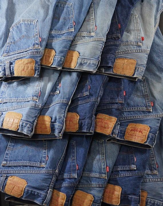 """501/701 22"""" -29"""" waist authentic vintage Levi 80s-"""
