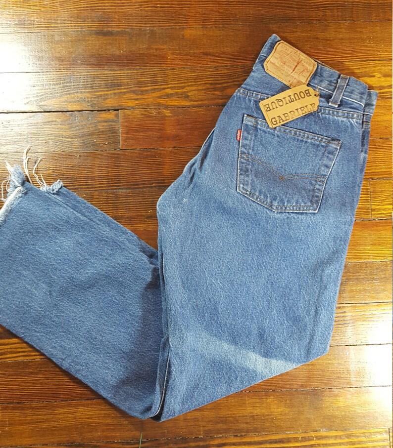 d03a1e764c3 Levis 501 30 W Levis 80's Vintage denim jeans LEVI'S | Etsy