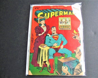 Superman (1st Series) #35 (Fair 1.0) Golden Age DC 1945! Four Stories! Comic Book. RARE!